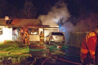 Structure Fire – Plaza Circle